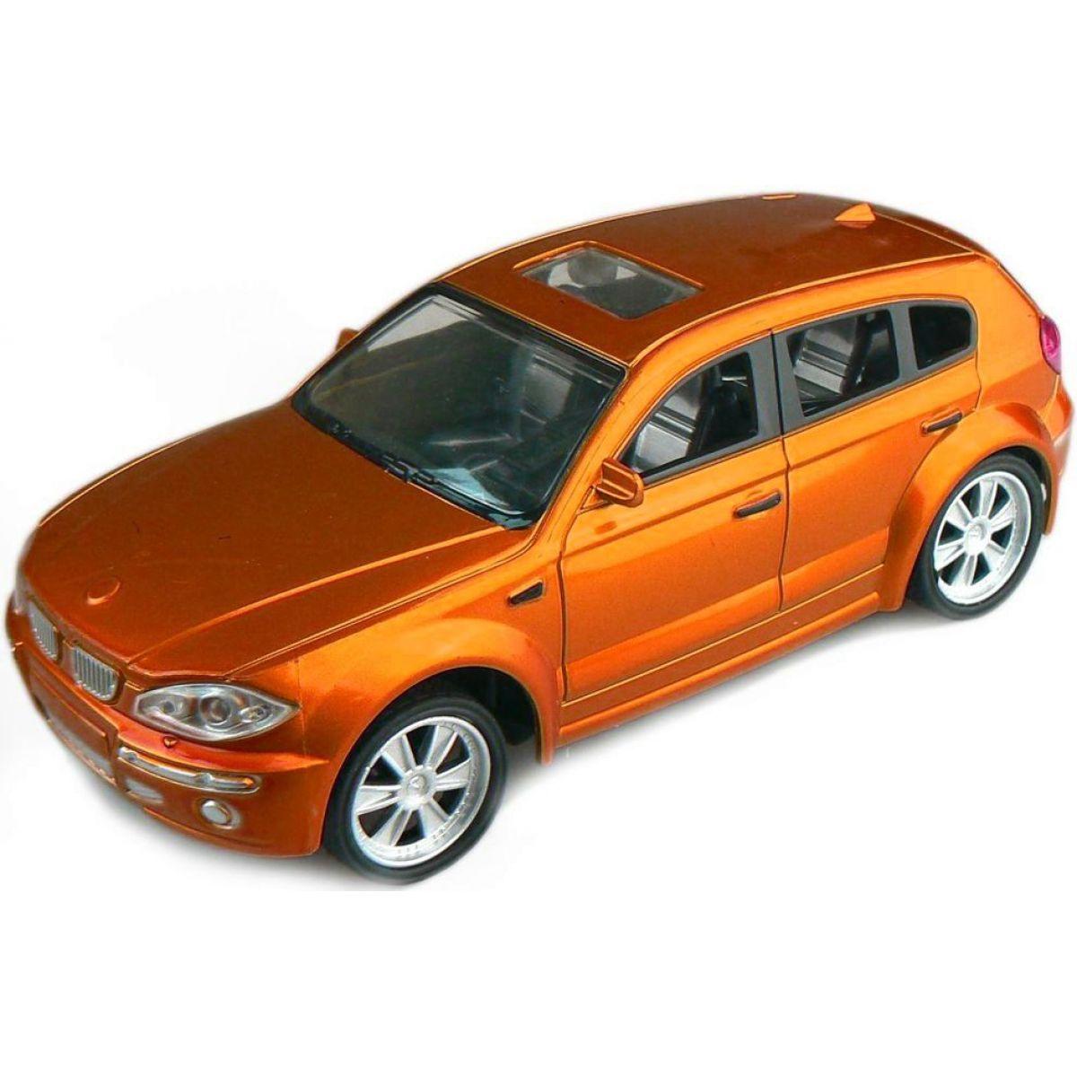 Made Auto Champion na dálkové ovládání - BMW oranžová