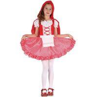 Made Dětský karnevalový kostým Červená Karkulka  S 110 - 120 cm