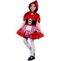 Made Dětský karnevalový kostým Červená karkulka L 130 - 140 cm