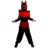 Made Dětský karnevalový kostým ďábel M 120 - 130 cm