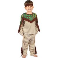 Made Dětský karnevalový kostým Indián XS 92 -104 cm
