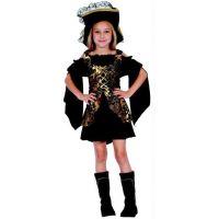 Dětský karnevalový kostým Korzárka S 110 - 120 cm