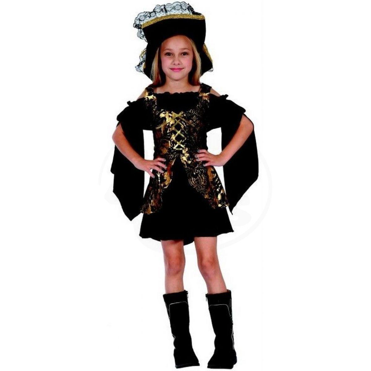 Made Dětský karnevalový kostým Korzárka M 120 - 130 cm 8d9422f1269
