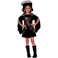 Made Dětský karnevalový kostým Korzárka M 120 - 130 cm
