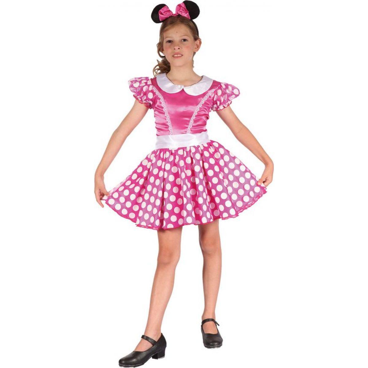 Made Dětský karnevalový kostým Myška 110 - 120 cm