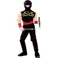 Made Dětský karnevalový kostým Ninja 110 - 120 cm