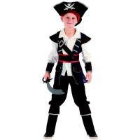 Made Dětský karnevalový kostým pirát 120 - 130 cm