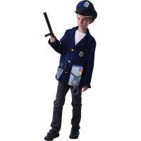 Made Detský karnevalový kostým Policajt 120 - 130 cm