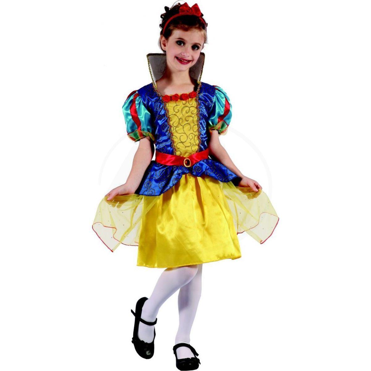 Made Dětský karnevalový kostým princezna M 120-130 cm ddd5d6ab736