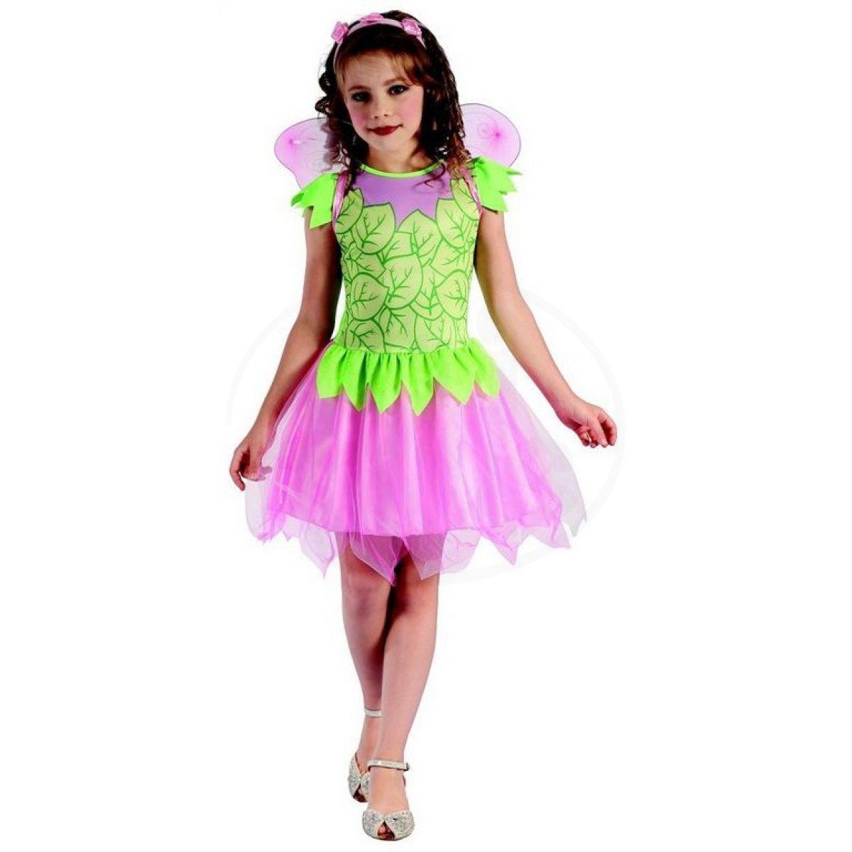Made Dětský karnevalový kostým víla 120-130 cm b9b0b78f7a4