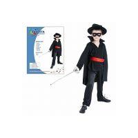 Made Detský kostým Bandita 110-120 cm 2