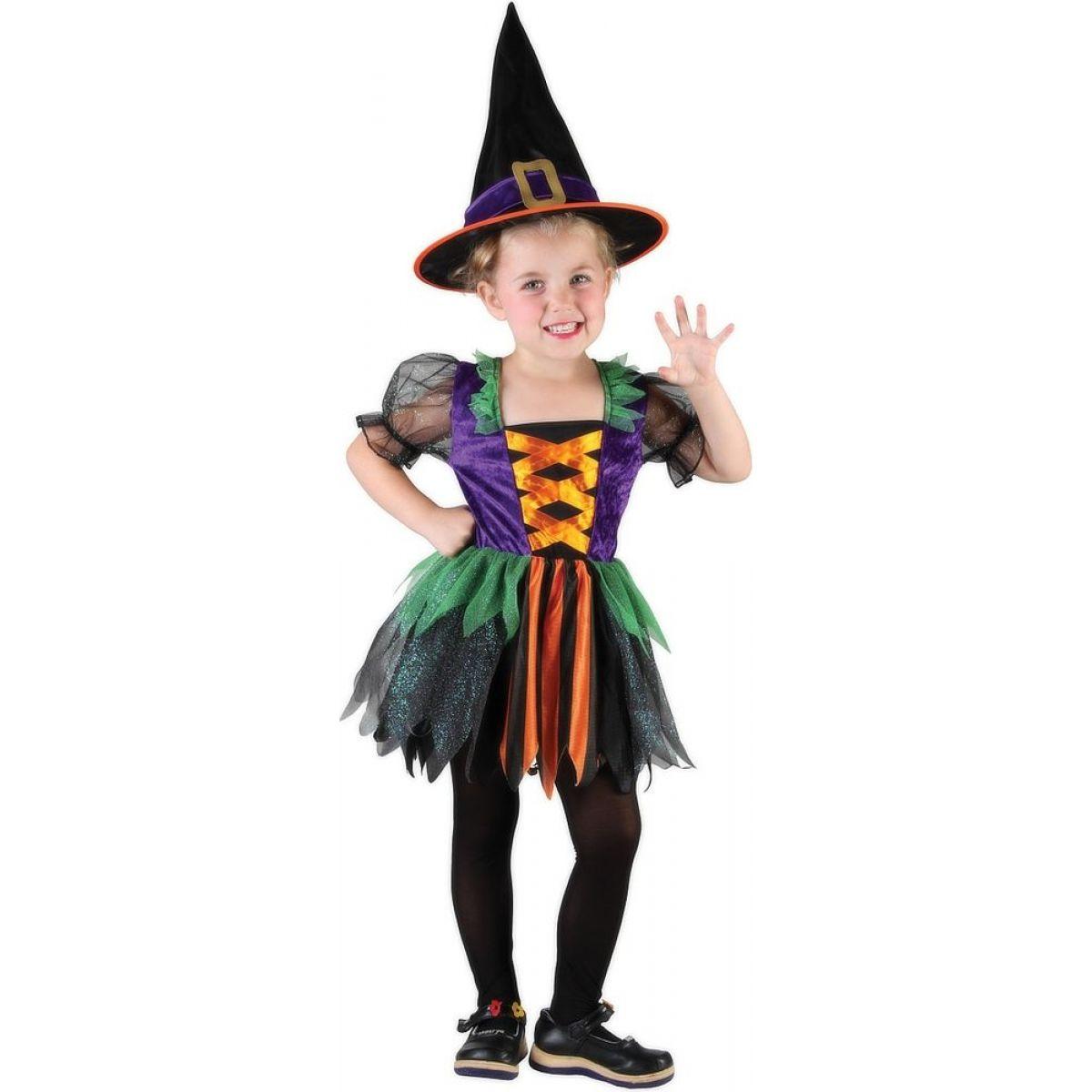 Made Dětský kostým Čarodějka 92-104cm