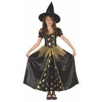 Made Dětský kostým Čarodějka lebka 110-120 cm