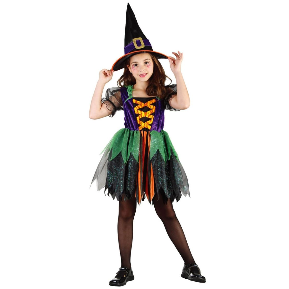 Made Dětský kostým čarodějka vel.S MaDe