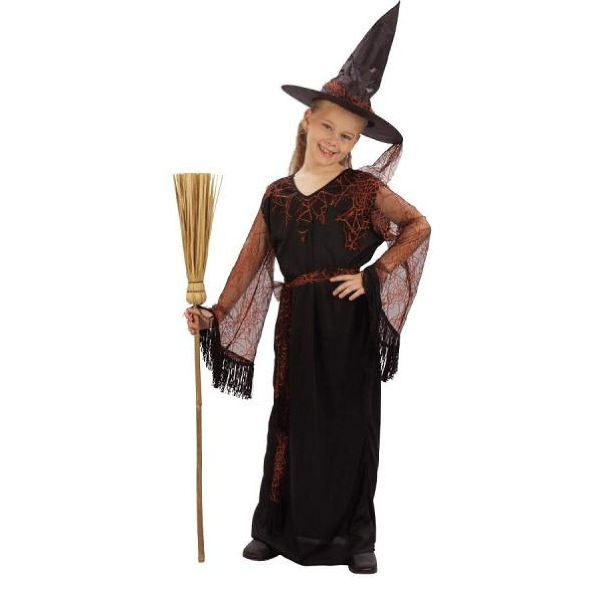 Made Dětský kostým čarodějka 120-130 cm
