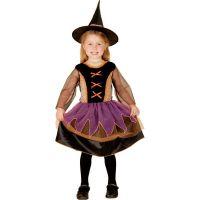 MaDe Dětský kostým čarodějka pro malé děti