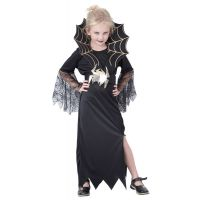 Made Dětský kostým Černá královna 130-140 cm