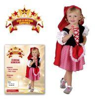 Made Šaty na karneval Červená čiapočka veľ.  XS 2