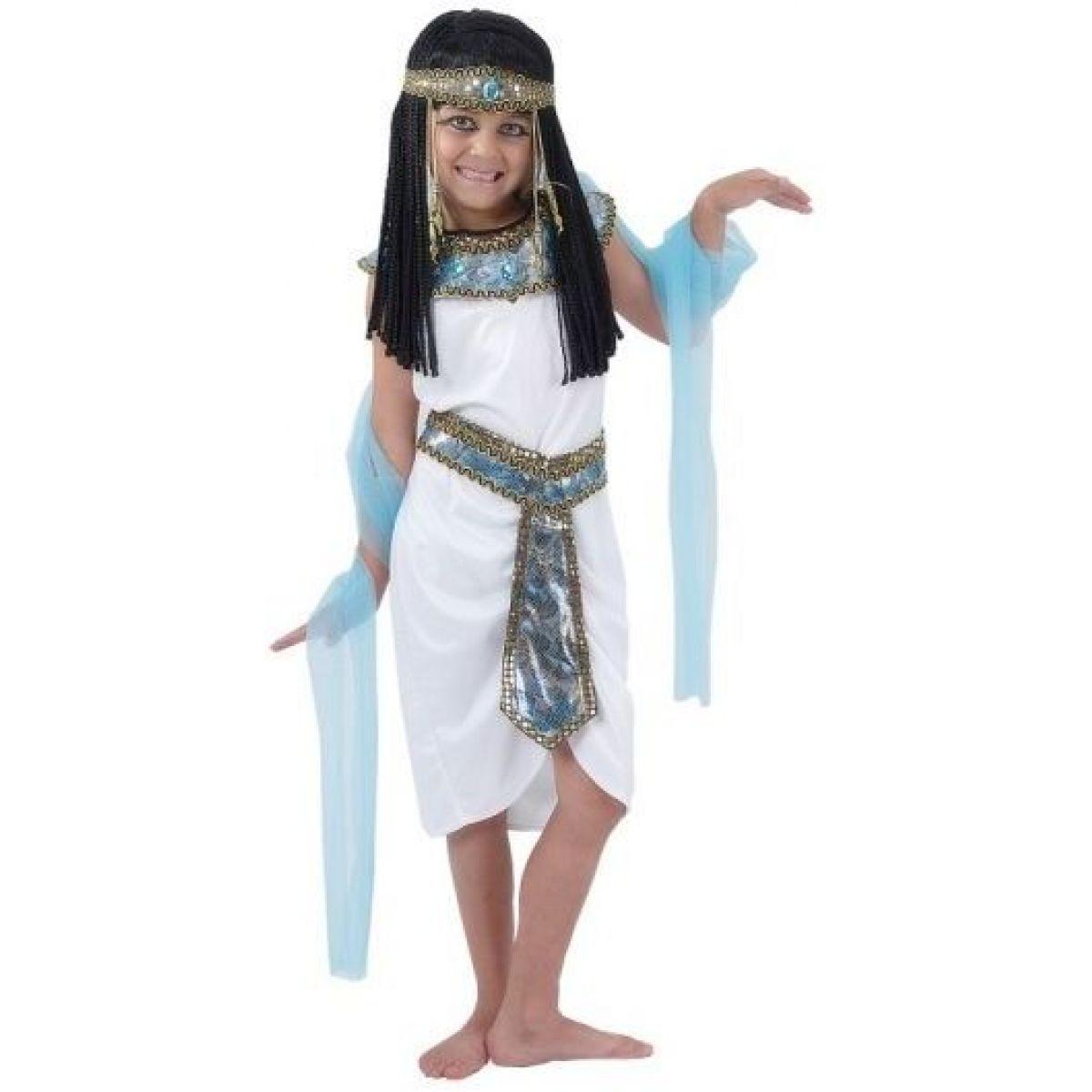 Made Dětský kostým Egyptská královna 120-130cm