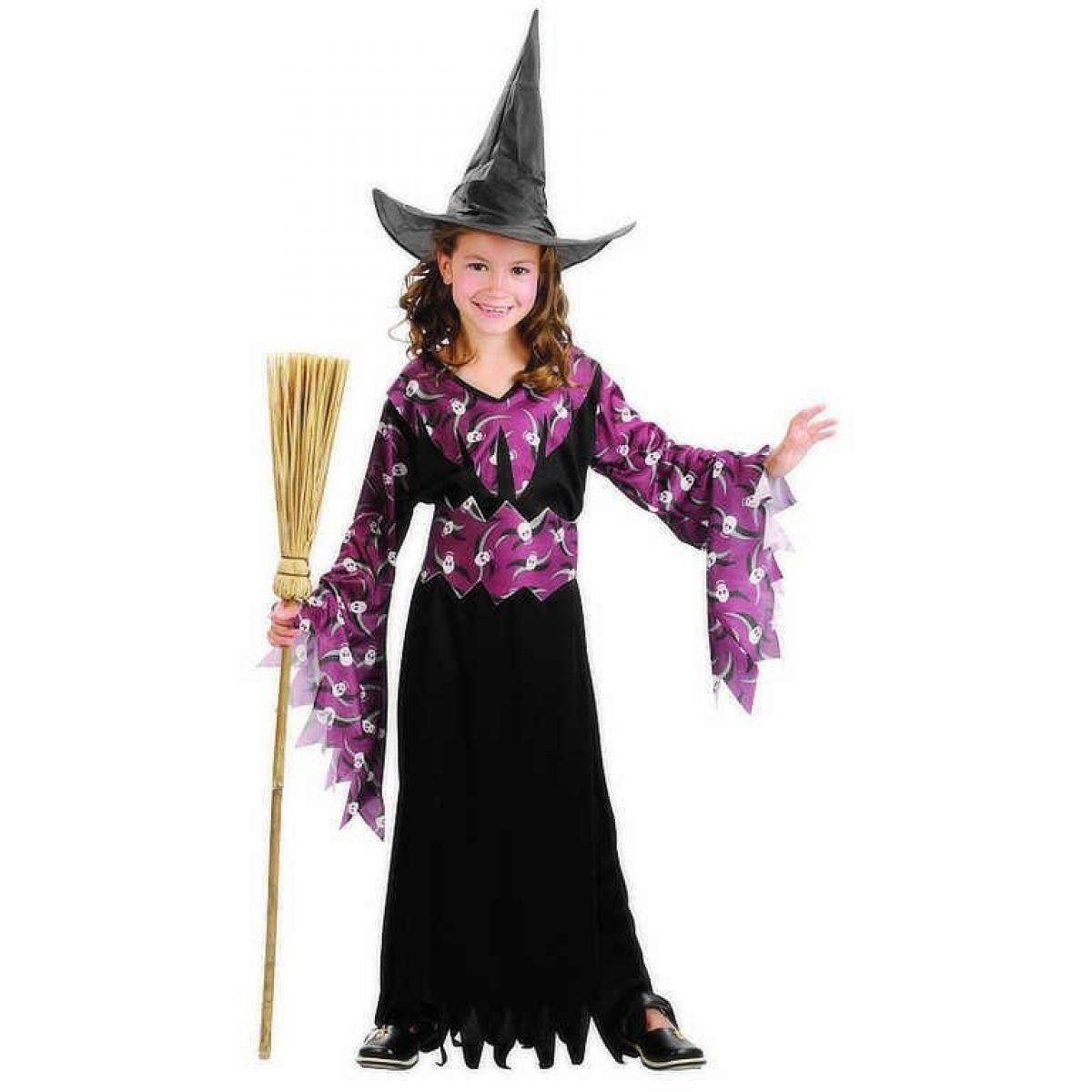 Made Dětský kostým Gotická čarodějnice 130-140 cm MaDe