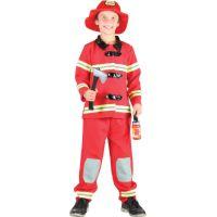 Made Dětský kostým Hasič 110-120cm - Poškozený obal