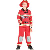 Made Dětský kostým Hasič 120-130 cm - Poškozený obal