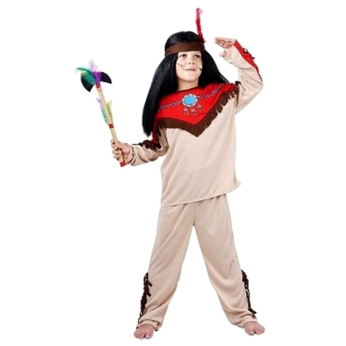 Made Dětský kostým Indián 5-9 let