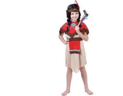 Made Dětský kostým Indiánka 110-120 cm