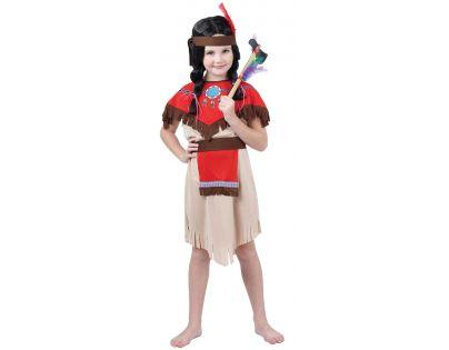 Made Dětský kostým Indiánka 120-130cm