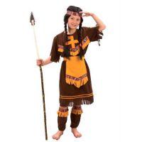 MaDe Dětský kostým Indiánka M