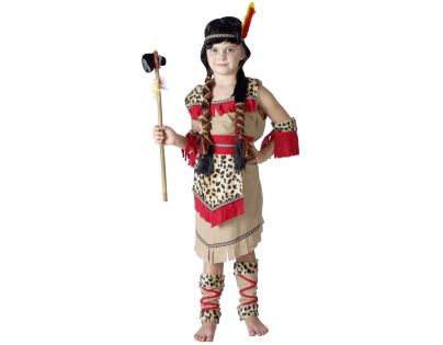 MaDe Dětský kostým indiánka velikost M