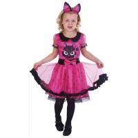 Made Dětský kostým Kočička 110-120 cm