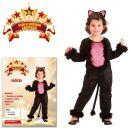 Made Dětský kostým Kočička 92-104cm 2