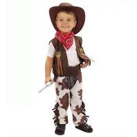 Made Dětský kostým Kovboj vel. XS - Poškozený obal