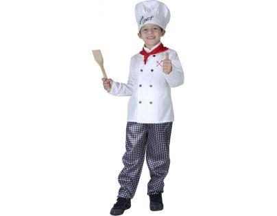 Made Dětský kostým Kuchař 120-130 cm