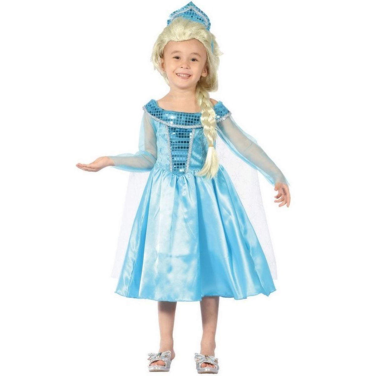 Made Dětský kostým Ledová Královna 92-104 cm