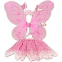 Made Dětský kostým Motýlek růžová
