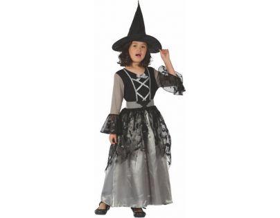 Made Dětský kostým na karneval Čarodějka 120-130 cm