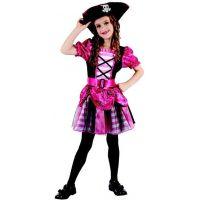 Made Dětský kostým na karneval pirátka 120-130 cm