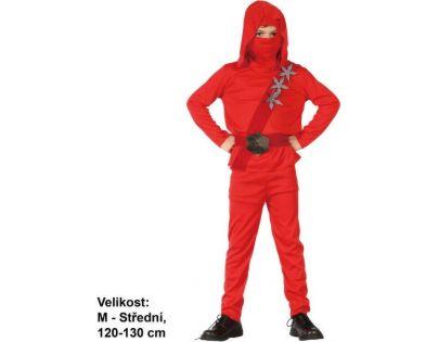 Made Dětský kostým Ninja 120-130 cm