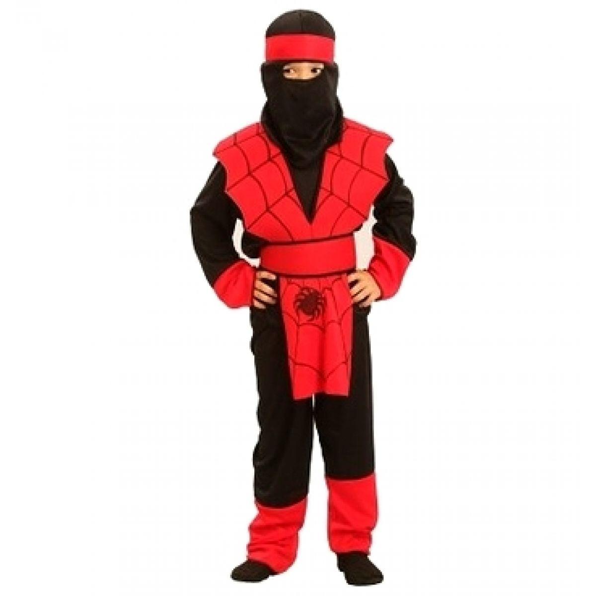 Made Dětský kostým Ninja 4-6 let
