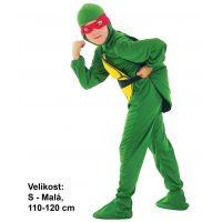 Made Dětský kostým Ninja Želva 110-120 cm