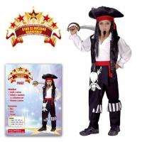 Made Detský kostým Pirát M 2