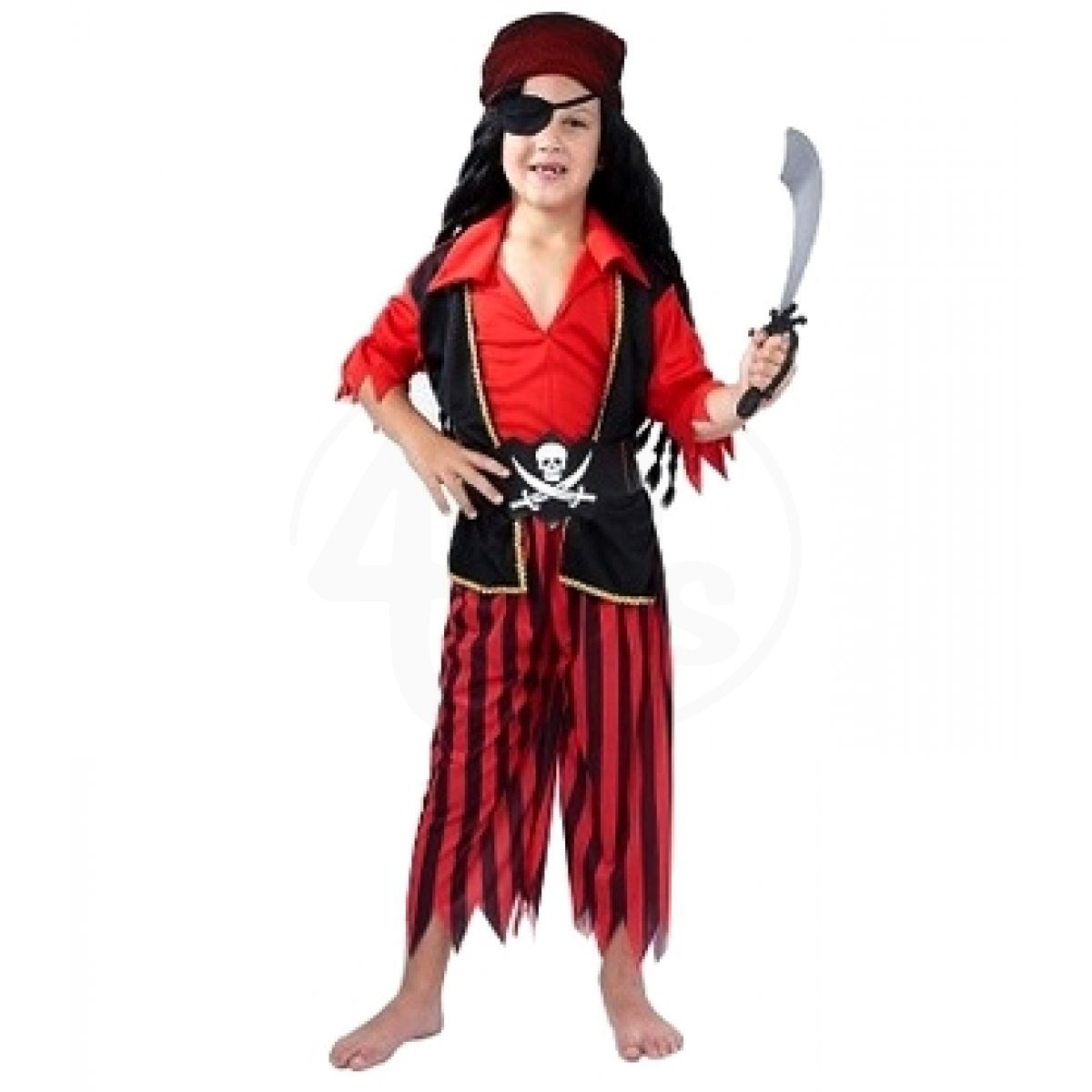 Made Dětský kostým 55482 Pirát 120-130 cm 61d928abf4f