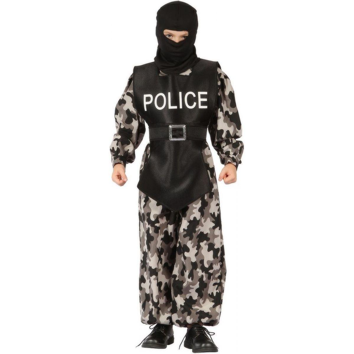 Made Dětský kostým Policista 110-120cm MaDe