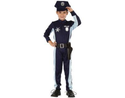 Made Dětský kostým Policista s čepicí 110-120 cm