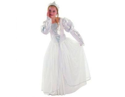Made Dětský kostým Princezna bílá 6-8 let