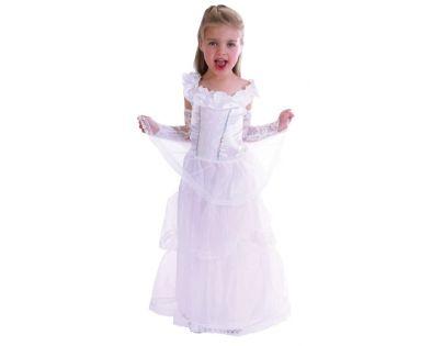 Made Dětský kostým Princezna bílá vel.XS