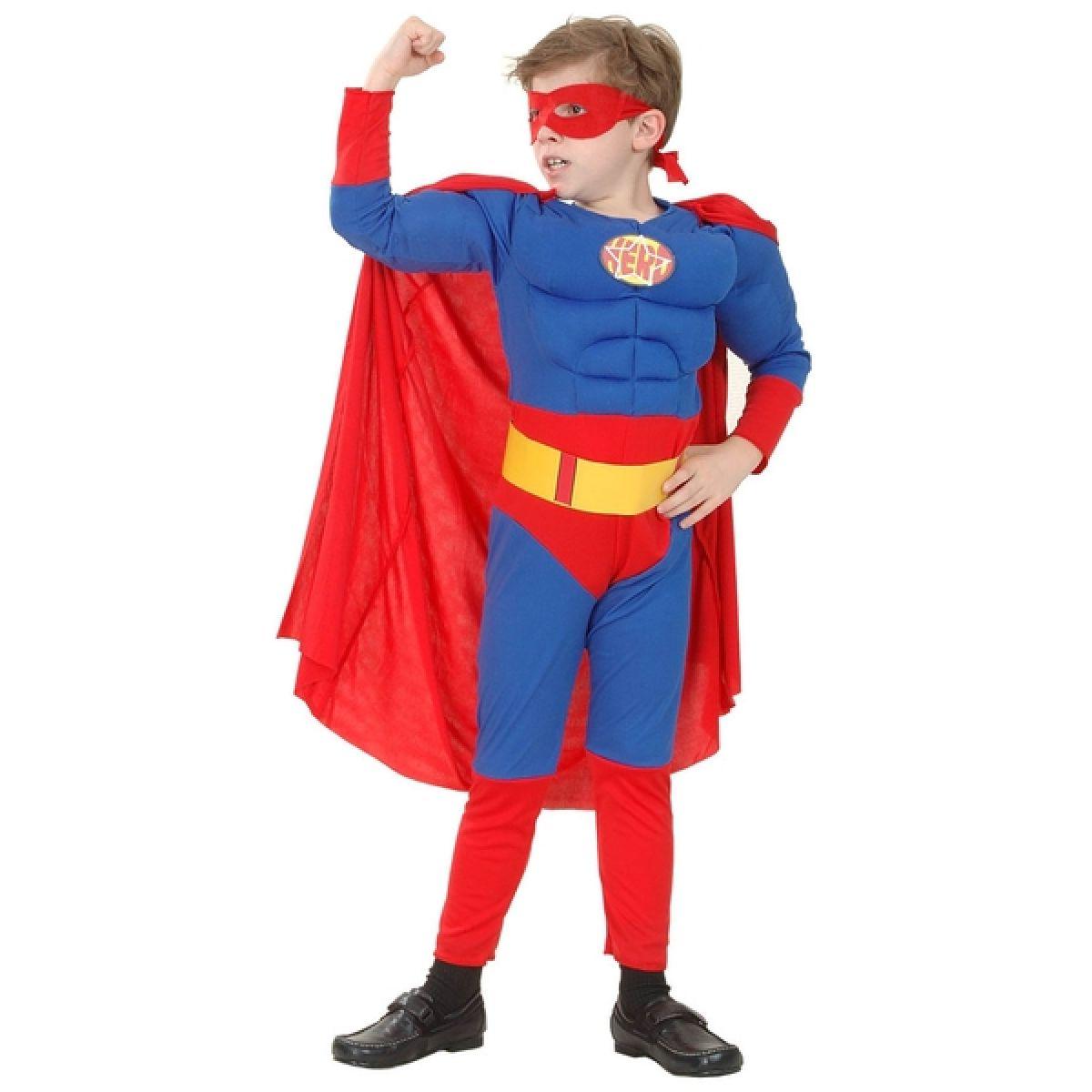 Made Dětský kostým Superhrdina vel. M