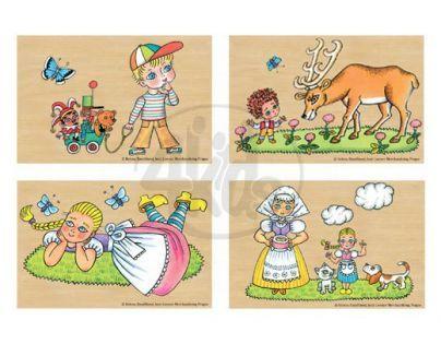 MaDe 57846 - Puzzle 4 obrázky Helena Zmatlíková